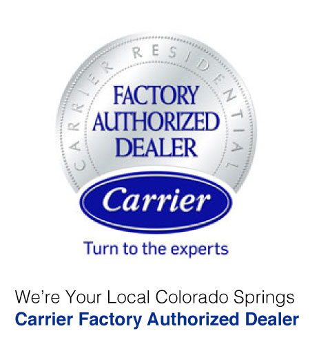 Advantage Heating & Cooling is Your Colorado Springs Carrier Factory Authorized Dealer