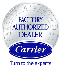 Carrier Certified Factory Authorized Dealer